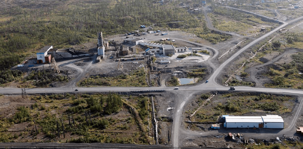 Komsomolsky Mine (excluding Skalistaya mine)