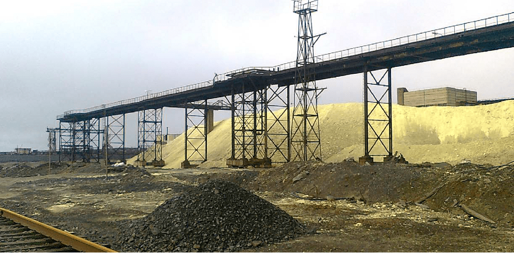 Sulphur project at Nadezhda Metallurgical Plant